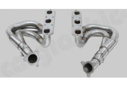 Collecteurs d'échappement Inox CarGraphic® Porsche Boxster/S (986) 2,7l/3,2l