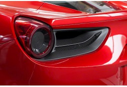 Caches feux arrière Carbone CAPRISTO Ferrari 488 GTB / GTS