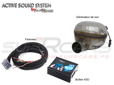 Détail d'un Active Sound System