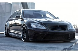Kit carrosserie Prior Design Black Edition V2 WideBody pour Mercedes Classe S (W221)