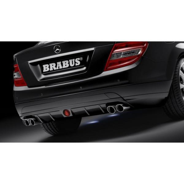 Echappement BRABUS Mercedes Classe C (C/W/S204) 6 Cylindres -Silencieux