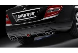 Echappement BRABUS Mercedes Classe C (C/W/S204) 4 Cylindres -Silencieux