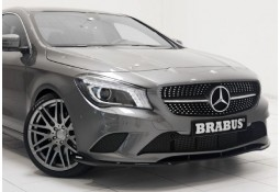 Lame de spoiler avant BRABUS pour Mercedes Classe CLA (C/X117) sans Pack AMG (-06/2016)