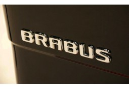 Logo chrome BRABUS Mercedes