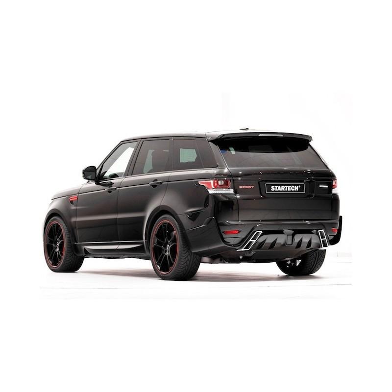 2008 Land Rover Range Rover Sport Interior: Echappement STARTECH Range Rover Sport Pare-chocs+Embouts