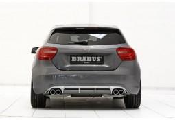 Spoiler arrière + silencieux  Brabus pour Mercedes Classe A (W176) sans Pack AMG