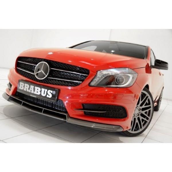 Spoiler avant BRABUS pour Mercedes Classe A (W176) Pack AMG & 45 AMG (-09/2015)