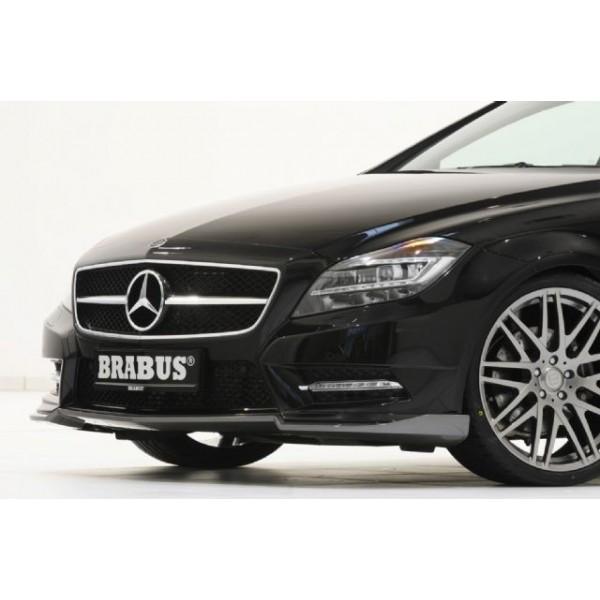 Spoiler avant BRABUS Gris pour Mercedes CLS (C/X218) Pack AMG (-08/2014)