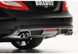 Diffuseur arrière BRABUS peint pour Mercedes CLS (C218) Pack AMG (-08/2014)