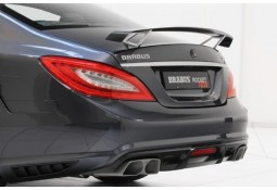 Prises d'airs en carbone pour diffuseur arrière BRABUS pour Mercedes CLS 63 AMG  (C218) (-08/2014)