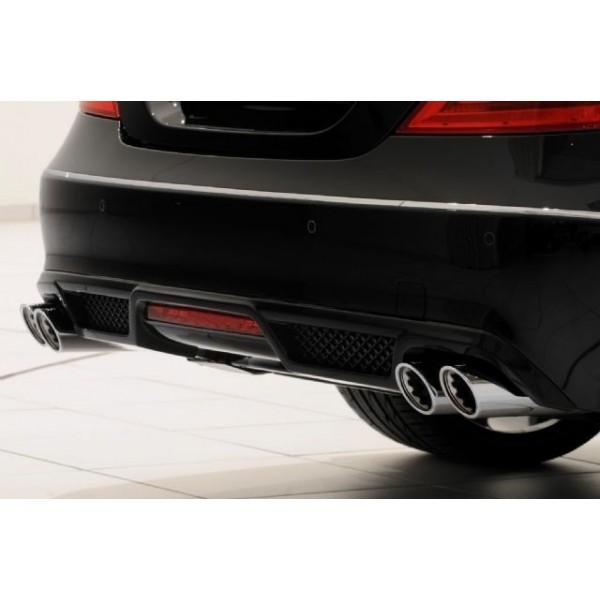 Echappement BRABUS Mercedes CLS 250 CDI (C218) 4 Cylindres Diesel (-08/2014)-Silencieux