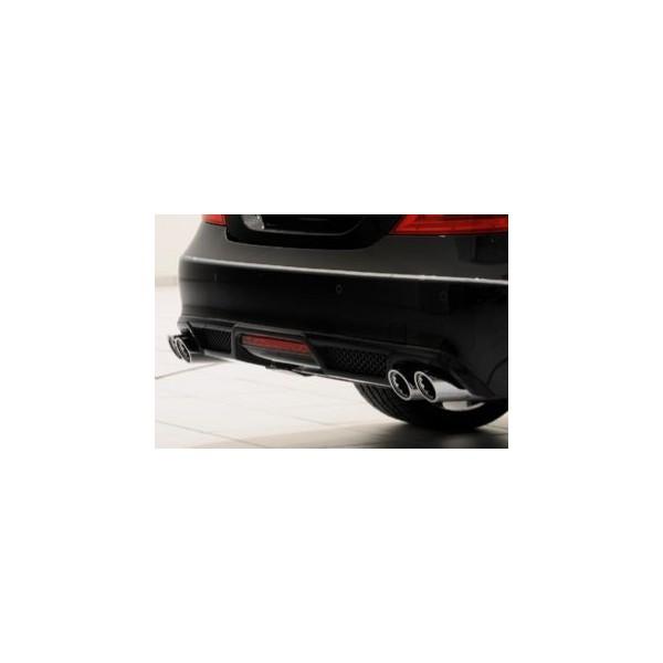 Echappement BRABUS Mercedes CLS 350 CDI & 350 CGI (C218) (-08/2014) -Silencieux
