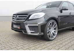 Pare-chocs avant en Carbone Brabus On-Road pour Mercedes ML 63 AMG (W166)