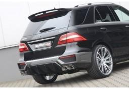 Extensions de pare-chocs arrière Brabus On-Road pour Mercedes ML 63 AMG (W166)