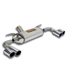 Silencieux arrière droite/gauche et intermédiaire Supersprint pour Bmw Série 3 (F30/F31) 330d / 330d Xdrive / 335d/ 335d Xdrive