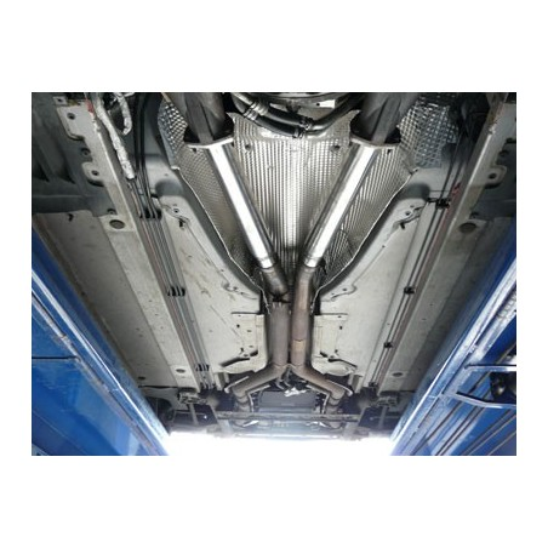Remplacement de catalyseurs Inox QuickSilver Supersport pour Aston Martin DB9 (2004-)