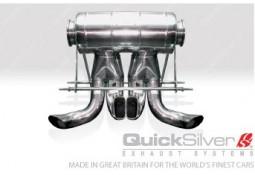 Silencieux arrière Inox QuickSilver Sport pour Bugatti Veyron 16.4 (2005-2011)