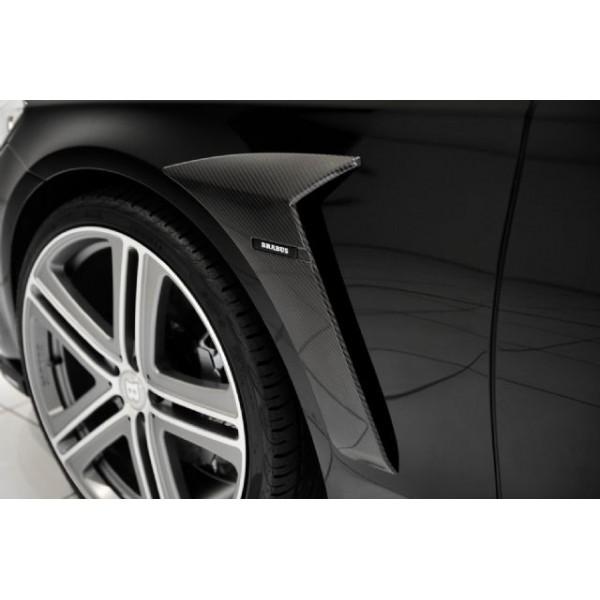 Extensions d'ailes avants Carbone BRABUS pour Mercedes Classe S (W222) (2013-)