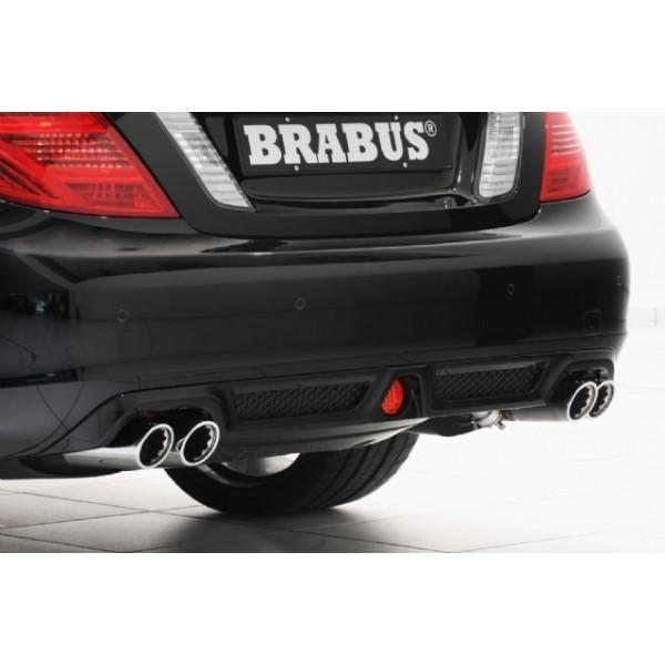 Echappement BRABUS Mercedes CL 500 CGI (C216) -Ligne Cat-Back à Valves