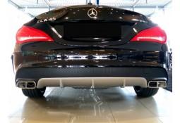 Diffuseur + Embouts échappements 45 AMG pour Mercedes CLA (C/X117) Pack AMG (2013-)