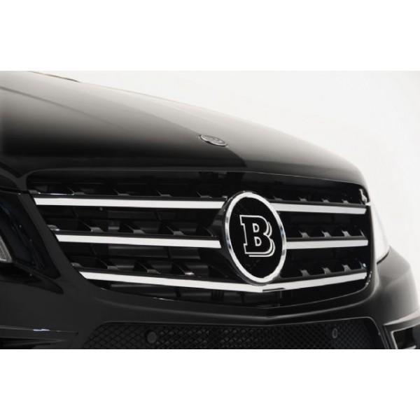 Logo BRABUS de calandre pour Mercedes ML (W166)