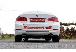 Silencieux arrière Supersprint pour Bmw Série 4 420d, 420xd, 425d (F32/F33)