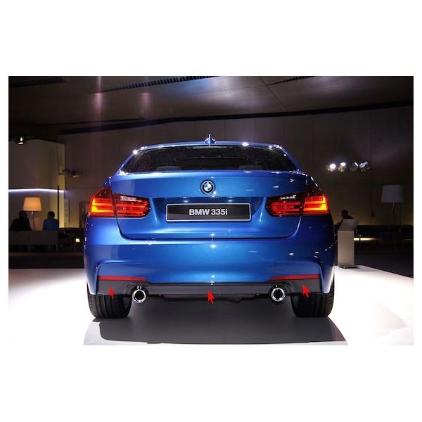 Diffuseur arrière BMW de 335i / 340i pour Bmw Série 3 (F30/F31) avec Pack M
