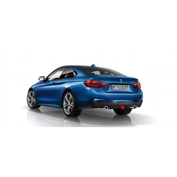 Diffuseur Arrière BMW look 435i pour BMW Série 4 (F32/F33/F36) (2013-) avec Pack M