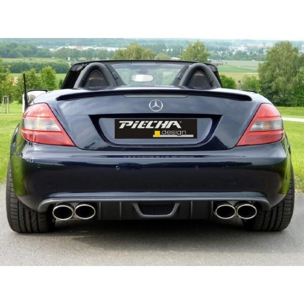 Diffuseur arrière PIECHA pour Mercedes SLK (R171) sans Pack AMG (04/2008-)