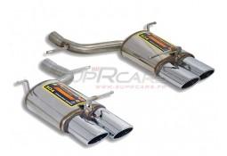 Silencieux arrière doute/gauche SuperSprint pour Mercedes SLK 200K/350/280 (R171)