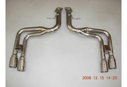 Tubes arrières Inox Tubi Style pour Ferrari 612 (2004-2010)