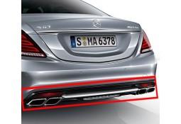 Diffuseur arrière avec sorties d'echappement AMG pour Mercedes Classe S (W222) Pack AMG