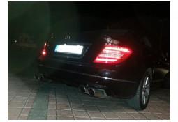 Silencieux arrière Fox pour Mercedes Classe C (C204) 4 Cylindres