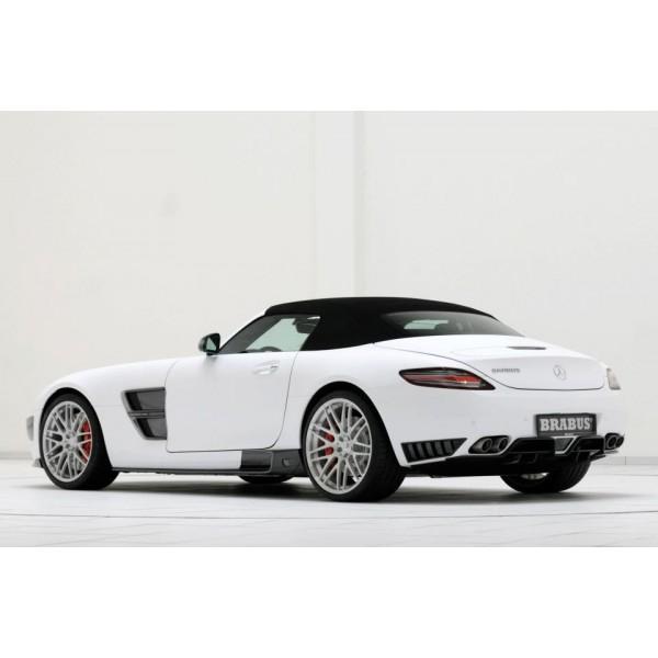"""Jante Brabus Monoblock F Platinium en 20"""" et 21"""" pour Mercedes SLS et AMG GT"""