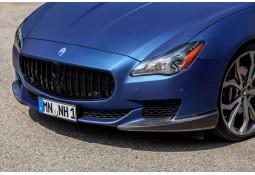 Lèvres de pare-chocs avant en Carbone Novitec pour Maserati Quattroporte (2013-)