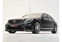 Extensions de pare-chocs avant en carbone BRABUS pour Mercedes Classe S 63 / 65 AMG (W222) (2013-)