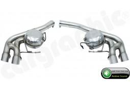 """Silencieux arrière """"Active Sound System """" CarGraphic  pour Porsche Macan Diesel S (95B)"""