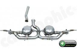 """Silencieux arrière """"Active Sound System """" CarGraphic pour Porsche Cayenne Diesel (957)"""