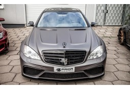 Capot Prior Design PD Black Edition V3 WideBody pour Mercedes Classe S (W221)
