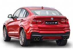 "Echappement sport "" Racing"" Supersprint pour Bmw X4 435d X-Drive (F26)"