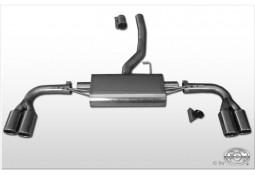 Echappement sport duplex droite/gauche FOX pour BMW X3 (F25)