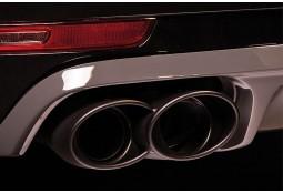 Echappement TECHART Porsche Macan (95B)(2014-) -Embouts Noirs