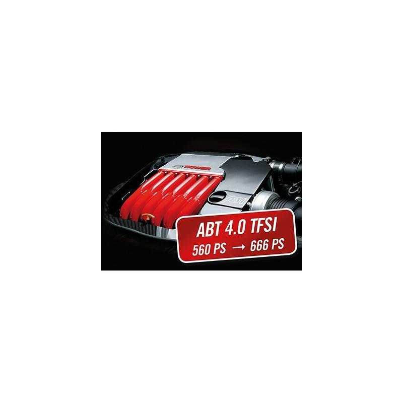 Kit performance ABT Power pour Audi RS6 4,2 TFSI  560Ch (4GO)