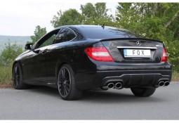 Echappement FOX Mercedes Classe C Coupé (C204) 4/6 Cylindres -Silencieux 4 Sorties look AMG