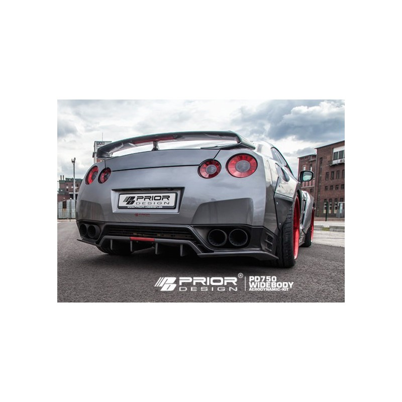 diffuseur arri re prior design pd750 widebody pour nissan gt r r35 suprcars. Black Bedroom Furniture Sets. Home Design Ideas