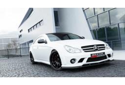 Lame pour Pare-chocs avant Maxton Design look AMG pour Mercedes CLS C219