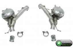 """Silencieux arrière """"Active Sound System """" CarGraphic pour Range Rover SDV8 (2013-)"""