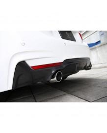 Diffuseur arrière en carbone 3DDesign look 435i pour Bmw Série 4 (F32/F33/F36) Pack M