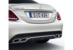 Diffuseur + Embouts échappements C63 AMG pour Mercedes Classe C Berline (W205) Pack AMG