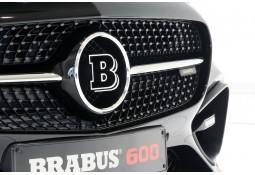 Logo de calandre BRABUS pour Mercedes AMG GT / GTS (C190) (-2017)